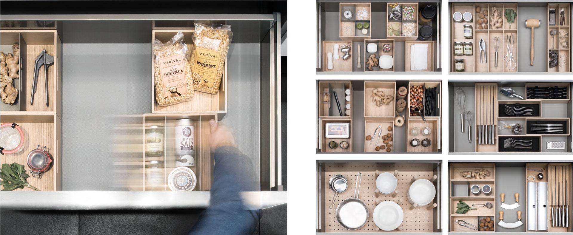 Kuchenschubladen Organisieren